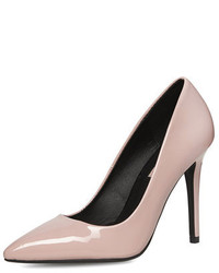 Dorothy Perkins Pale Pink High Pointed Court Shoes