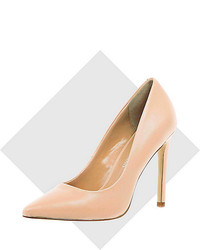 River Island Pink Leather Pumps
