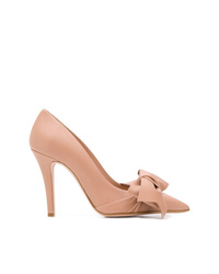RED Valentino Red Flow Bow Pumps