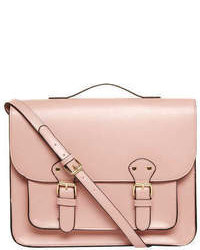 Dorothy Perkins Dusky Pink Satchel Bag