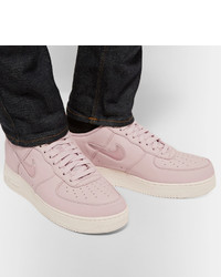 sélection premium 88d62 b34b4 Nike Lab Air Force 1 Jewel Swoosh Leather Sneakers, $150 ...