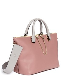Chlo¨¦ Chlo Baylee Small Leather Tote | Where to buy \u0026amp; how to wear