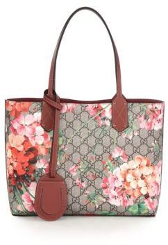 3ac0319d7262 Gucci Gg Blooms Small Reversible Tote, $980 | Saks Fifth Avenue ...