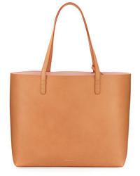 Mansur Gavriel Large Vegetable Tanned Leather Tote Bag