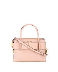 Miu Miu Medium Pink Madras Tote Bag