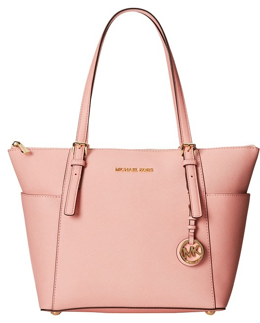 michael michael kors michl michl kors jet set saffiano top zip tote where to buy how to wear. Black Bedroom Furniture Sets. Home Design Ideas