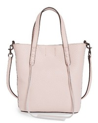 Mini leather tote white medium 3760928