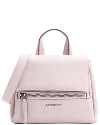Givenchy Nude Pink Leather Pandora Pure Mini Converitble Tote
