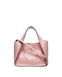 Stella McCartney Pink Logo Tote Bag