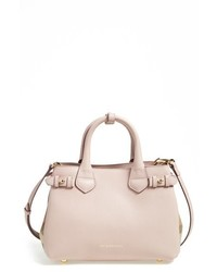 Small banner leather tote medium 620089