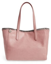 Small falabella shaggy deer faux leather tote medium 3692076