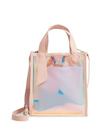 Knotty Transparent Tote