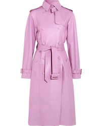 Valentino Leather Trench Coat