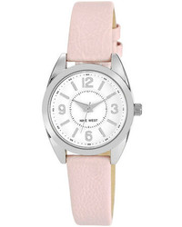 Nine West Blush Pink Strap Watch 30mm Nw1373wtpk