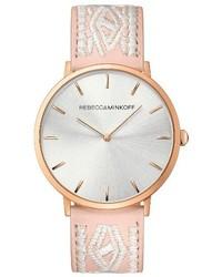 Leather strap watch 40mm medium 4401438
