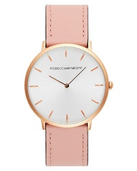 Rebecca Minkoff Major Leather Watch