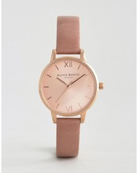 Olivia Burton Rose Midi Dial Leather Watch