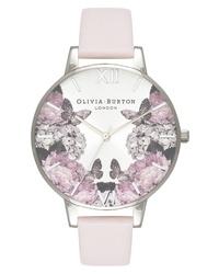 Olivia Burton Signature Floral Leather Watch