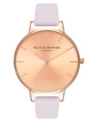 Olivia Burton Sunray Leather Watch