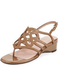 Kelvo patent wedge sandal medium 3697302