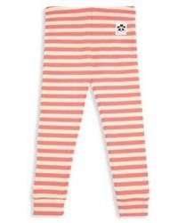 Mini Rodini Babys Toddlers Little Girls Girls Striped Rib Knit Leggings