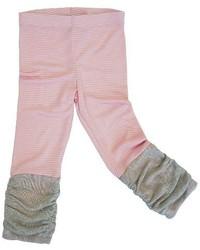 Toddler Girls Sara Sara Neon Striped Legging Pants Pink