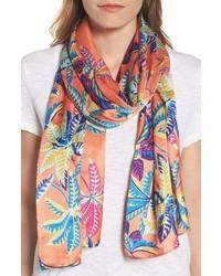 Parisian palm oblong scarf medium 4065239