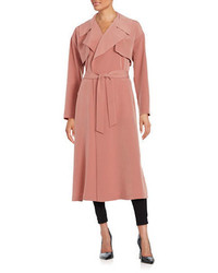 Pink Lightweight Trenchcoat