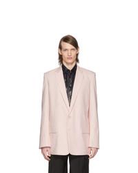 Tibi Pink Long Blazer