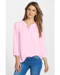 Henley blouse medium 158165
