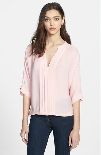 6c34ddea292f ... Blouses Joie Marru Silk Blouse Picnic Pink Small