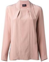 Lanvin Square Neck Blouse