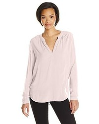 Velvet by Graham & Spencer Challis Split Neck Blouse