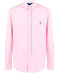 Ralph Lauren Embroidered Logo Button Down Shirt