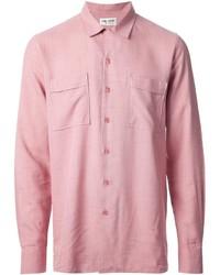 Fine check shirt medium 119502