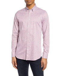 Ted Baker London Hedoes Slim Fit Button Up Shirt