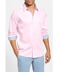 Ted Baker London Plancuf Extra Slim Fit Stretch Sport Shirt