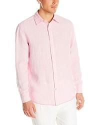 Margaritaville Long Sleeve Dobby Linen Shirt
