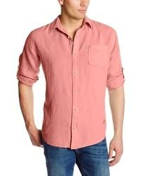 Margaritaville Long Sleeve Linen Shirt
