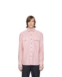 Eidos Pink Dyed Western Shirt