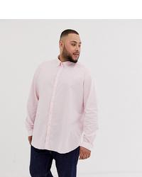 Jack & Jones Premium Plus Size Shirt In Stretch Cotton