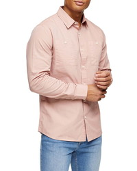 Topman Slim Fit Button Up Shirt