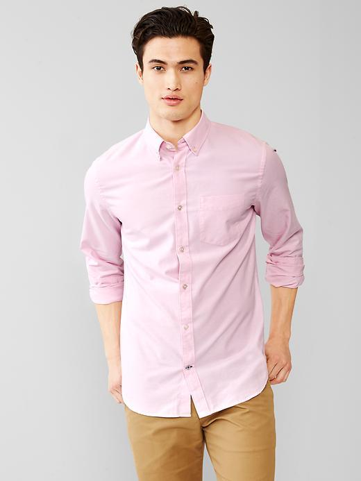 Gap Spring Oxford Shirt | Where to buy & how to wear