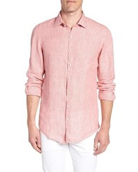 Rodd & Gunn Warwick Junction Stripe Linen Sport Shirt