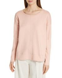 Eileen Fisher Boxy Organic Cotton Knit Top