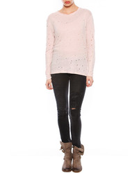 IRO Marvina Long Sleeve Destroyed Tee