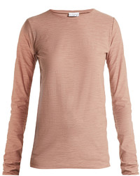 Ry long sleeved slubby cotton jersey t shirt medium 6371985
