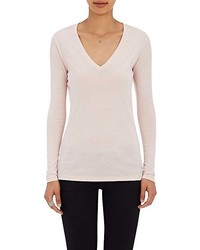 Barneys New York V Neck Long Sleeve T Shirt