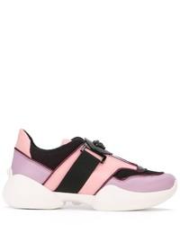 Versace Colour Block Low Top Sneakers