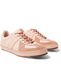 Hender Scheme Mip 05 Suede Trimmed Leather Sneakers